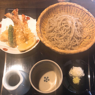 天ざる蕎麦(胡蝶庵 仙波 (こちょうあんせんば))
