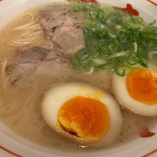 ラーメン(長浜屋台 やまちゃん 天神店)