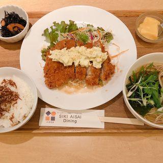 鶏の南蛮タルタル御膳(四季愛菜ダイニング (シキアイサイダイニング))