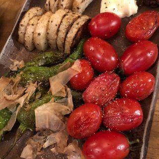 焼き野菜(炭と蕎麦と酒 今なら )