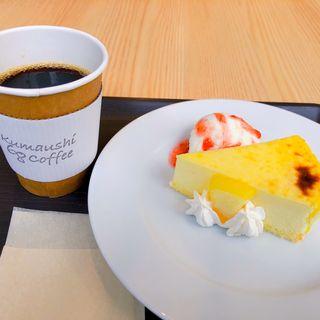 チーズケーキ&熊牛珈琲(熊牛68珈琲)