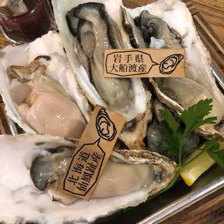 生牡蠣(メリケンサカナ 名駅店)