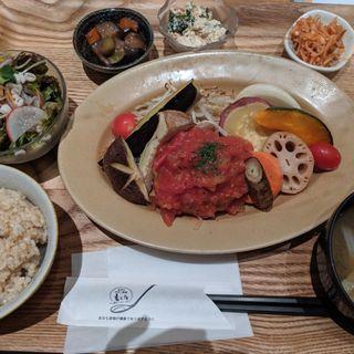 ふわふわハンバーグ定食(玄三庵 淀屋橋odona店)