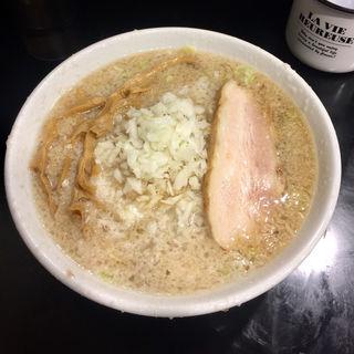 背脂煮干し(麺屋 熊胆(ゆうたん))