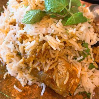 真鯛のビリヤニ(バンゲラズキッチン (Bangera's Kitchen))