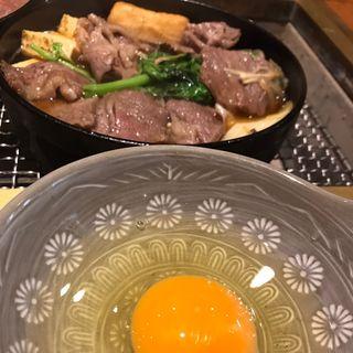 田村牛すき焼き御膳(蔵)