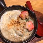 湯葉と生麩の蟹味噌グラタン