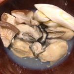 牡蠣の酒蒸