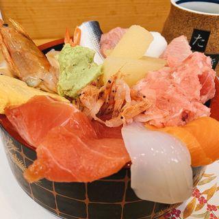 海鮮丼(たぬきすし)