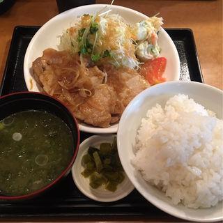 生姜焼き定食(花の木 (はなのき))