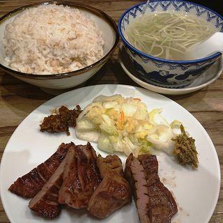 牛たん定食(3枚6切)(牛たん炭焼 利久  ラゾーナ川崎店)