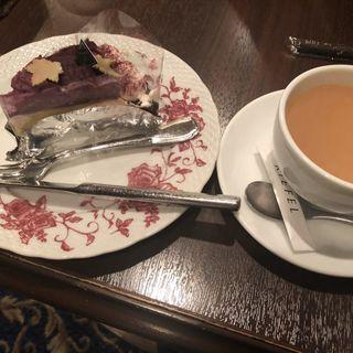 紫芋のタルト(キーフェル )