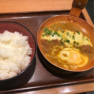 カレーチーズカツ丼(祭太鼓 阪急三番街店 )