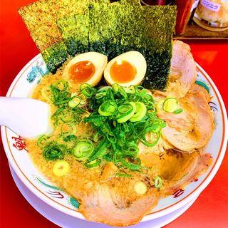 特製醤油 全部のせラーメン(魁力屋 園田店 (かいりきや))