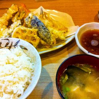 天婦羅定食(はちまき )
