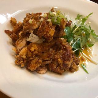ねぎ鶏皮和え(蜀香 担担麺)