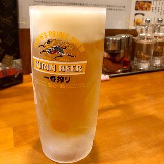 生ビール(蜀香 担担麺)