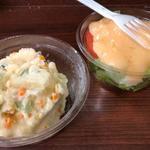 ポテサラ 生野菜