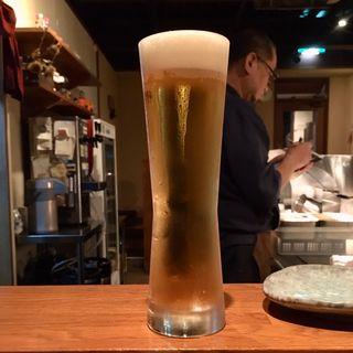 ビール(生)(串揚げ ふくみみ)
