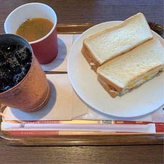 コールスローサンドランチ(上島珈琲店 仙台一番町店 )