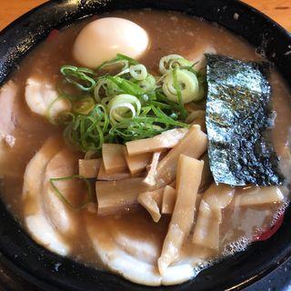 純チャーシュー麺(半熟味玉入り)(無鉄砲がむしゃら (【旧店名】屋台ラーメン がむしゃら))