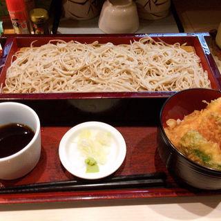 もりそばと天ぷら丼(みとう庵 )