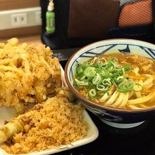 カレーうどん(野菜かき揚げ/アスパラ天)(丸亀製麺 イオン板橋店 )