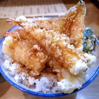 天丼+ご飯大盛り(はちまき )