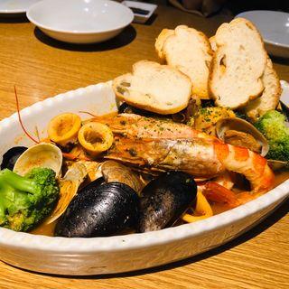 キンキのアクアパッツァ(Fish Market丸秀)