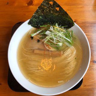 ゆず塩そば(中華そば 麺や食堂)