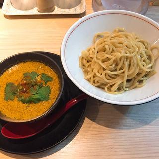 カレー風味の坦々つけ麺(拉麺開花)