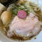 季節限定 牡蠣塩わんたん麺+味玉無料券
