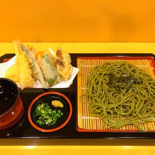 天ぷら茶そば(味処やまざき)