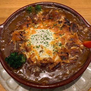 焼きチーズカレー(カリカリ )