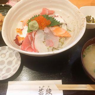 海鮮丼(若狭 なんばウォーク西店 )