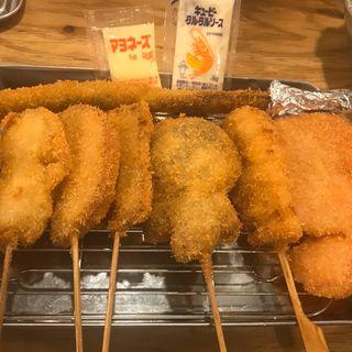 盛り合わせ【5品盛り】(串カツ田中 東池袋店 )