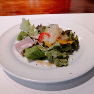 ランチ 前菜(ロフィチーナ デル チーボ (L'OFFICINA DEL CIBO【旧店名】CIBO&Co.))