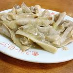 チートの生姜炒め