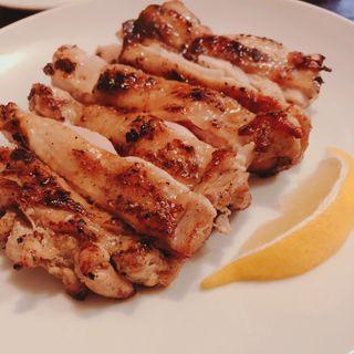 若鶏モモ肉ヨーグルトマリネのグリル(オルフィック バー)