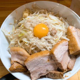 肉増しまぜそば塩300g  (麺処 マゼル (MAZERU))