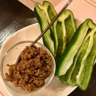 シャキシャキ肉みそピーマン(Living Dining 53)