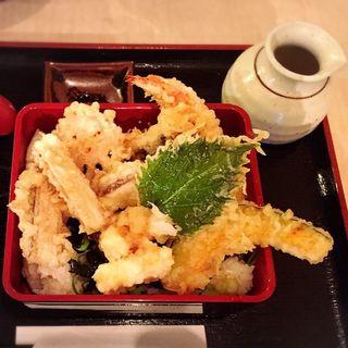天丼(お吸い物付き)(美の庵 )