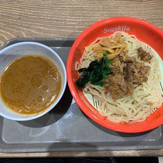 牛肉つけ麺(スガキヤ イオン藤井寺ショッピングセンター店)