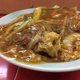 中華風豚カツ丼(昇福亭 )