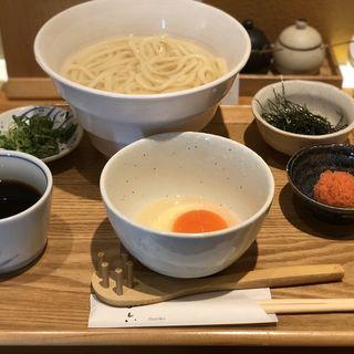 釜あげ・釜玉コンビ(切麦や甚六)