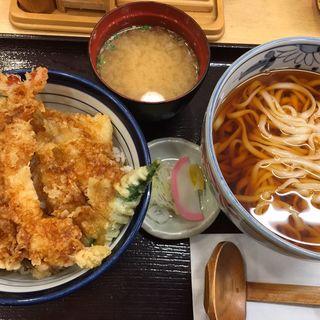 天丼とうどんセット(天丼てんや 上野店 )