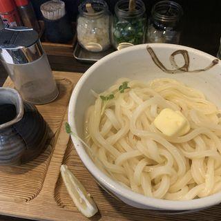 釜バターうどん(手打ちうどん渡辺)