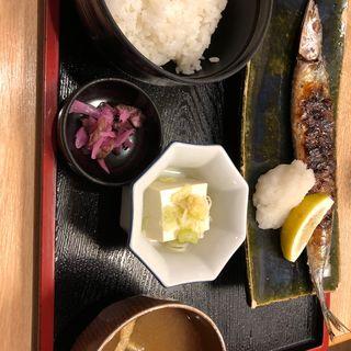 さんま定食(北浜 横浜店 )