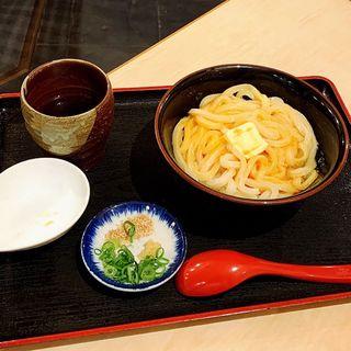 玉子醤油うどん(美の庵 )