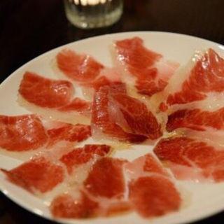 生ハム(スペイン料理 ルナソル)